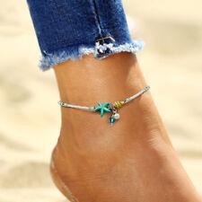 Retro Handmade Shell Bead Ankle Chains Anklet Bracelet Sandal Beach Foot  Pro