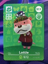Lottie 311 Animal Crossing Amiibo Card Series 4 [NA] Near Mint/Pack Fresh (2)