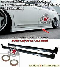 CityKruiser MP Style Side Skirts (ABS) Fits 11-17 Sienna [Won't Fit SE Model]