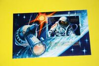 Space - Leonov - First Cosmonaut WALK in Cosmos - MNH VF Souvenir sheet, Russia