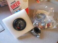 NOS Vintage Honda Harley Davidson BMW VDO Temperature Gauge Kit 1232900014