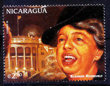 Nicaragua MNH, Elenor Rooselvet, Women, First Lady of the United States  -Z2