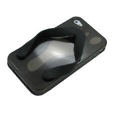 cover custodia morbida Iphone 4 4S  nuova versione infradito nero