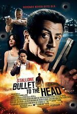 Bullet To The Head - original DS movie poster - D/S 27x40 Stallone