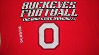 """NCAA OSU Ohio State Buckeyes """"Buckeyes Football"""" T-Shirt Large/L NWT!"""
