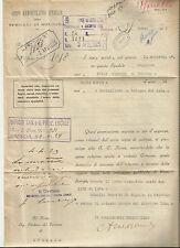 """LETTERA DEGLI """"SPEDALI DI BOLOGNA"""" AL SINDACO DI BRESCIA_SPESE PER INFERMO_1925"""