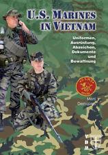 U.s. marines au vietnam uniformes équipement insigne documents armement