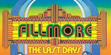 THE LAST DAYS OF FILLMORE (DVD)1972 ROCK CONCERT GRATEFUL DEAD SANTANA JEFF AIR