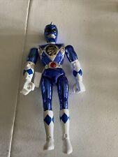 Mighty Morphin Power Rangers the Movie Blue Ranger Metallic Action Figure 1995