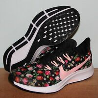 Nike Air Zoom Pegasus 36 Vintage GS Running Shoes Girls 5 AT4096-001 Floral