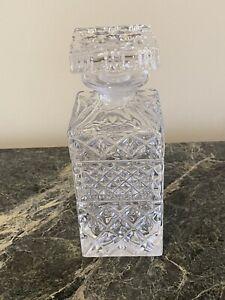 crystal decanter set