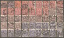 Deutsches Reich Dienst vanaf  21 gestempeld  c.w.  €  117,10