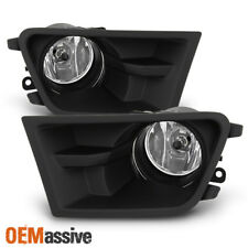 Fit 2010-2012 Ford Mustang Glass Lens Bumper Fog Lights w/Switch+Harness+Bulbs