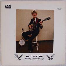 Allen Shelton: 5 string Dobro & Banjo API Bluegrass Vinyl LP