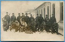 CPA-PHOTO: Elèves caporaux d'un régiment d'infanterie coloniale / Guerre 14-18