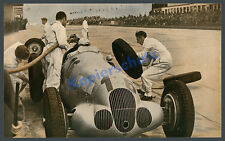 Mercedes-Benz W 125 Silberpfeil Hermann Lang Nürburgring Reifenwechsel GP 1937