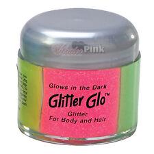 Glow In The Dark Stardust Neon Body Glitter Hair Shimmer 2 Oz.