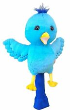 Blue Birdie Golf Animal Headcover Driver Head Cover Daphnes Golf Club Cover