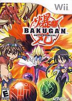 Bakugan - Battle Brawlers New Nintendo WII