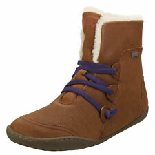 Camper Peu Cami Womens Brown Leather Casual Boots