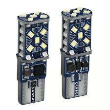 2PCS T10 W5W New Super Bright LED Car Parking Lights WY5W Auto Wedge Side Bulbs