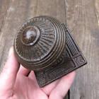 Original Antique Ornate Victorian Cast Iron Door Pull Centre Circa 1885