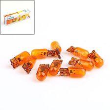 10x Genuine Philips Bulbs 12396 12V 5W WY5W/T10/921/168/W5W Premium Signal Light