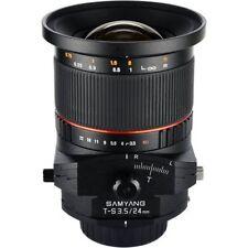 Obiettivi Samyang per fotografia e video F/3.5
