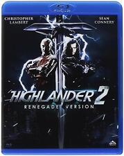 HIGHLANDER 2 - RENEGADE VERSION - BLU RAY  BLUE-RAY