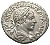 Elagabalus AR Denarius (220 AD), SOL