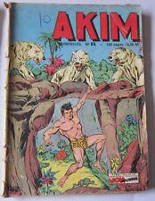 AKIM - N° 085 - avec Diavolo & Le Justicier masqué - Mon journal 1963