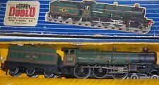 HORNBY DUBLO MODEL EDLT20 'BRISTOL CASTLE' BR 2 RAIL LOCOMOTIVE & TENDER BOXED