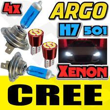 H7 SUPER XENON WHITE 499 477 UPGRADE HEAD LAMP BULBS 12V 501 6 SMD SIDELIGHTS