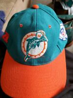 Vintage Starter Miami Dolphins Fitted Wool  Hat 7 1/4 70's