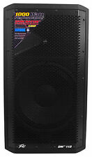 "Peavey DM 112 12"" 1000W Painted Wood Active Powered PA Speaker+Digital DSP DM112"