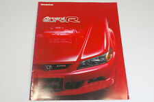 HONDA ACCORD EURO R Sedan CL1 Japanese Brochure 2000 Prospekt TSX