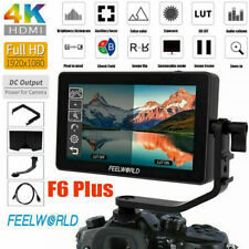 "Feelworld F6 Plus 5.5"" IPS Touch Screen On Camera Field Monitor for DSLR Gimbal"
