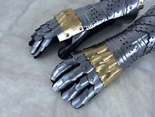 Armor gloves set Larp Arnory Gauntlet Set  Reenactment Halloween Costume