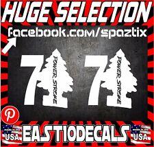 7.3 powerstroke DIESEL truck sticker decal vinyl diesel funny PAIR