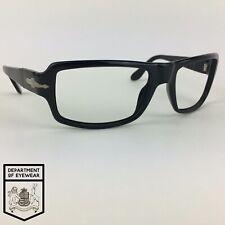 PERSOL eyeglasses BLACK RECTANGLE glasses frame MOD: 2837-S 95/31