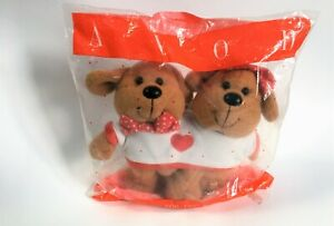 Avon Valentine's Day Tee For Two Plush Bears The Gift Collection