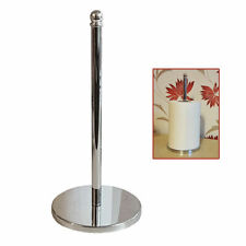 New Kitchen Stainless Steel Towel Roll Holder Pole Stand Storage Solution UKDC