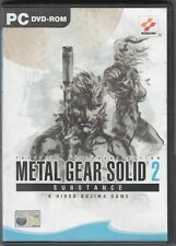 METAL GEAR SOLID 2. Substance Videogioco PC ITALIANO COMPLETO DI MANUALE