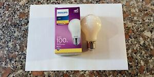 PHILIPS INCALED100 LAMP LED TUTTO VETRO 10,5=EX100W 230V E27 1521 LUMEN 2700°K
