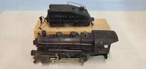 LIONEL PREWAR 1656 ENGINE W BELL RINGING TENDER..............TK..