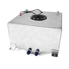 10 Gallon / 38 Litre Lightweight Polished Aluminum Fuel Cell w/ Sender
