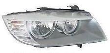 BMW SERIE 3 Unità Luci Anteriori Lato Del Conducente Proiettore Unità 2008-2012