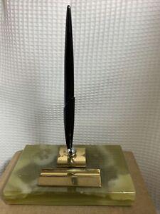 Vintage Parker  Onyx Fountain  Pen Desk Set model #170