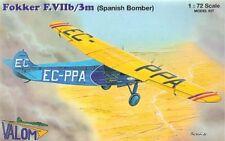 Valom 1/72 Fokker F.VIIb/3M Spain/Croatia # 72064