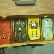 VINTAGE 1960,S COX AND OTHER ELECTRIC SLOT CARS WITH ASSCESORIES